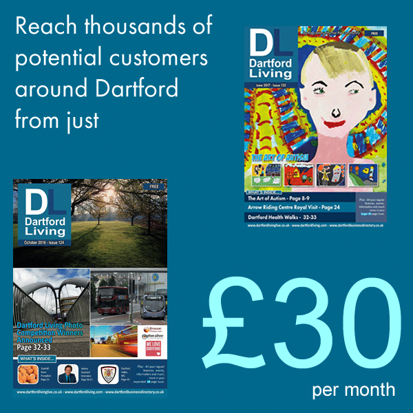 Advertise in Dartford Living