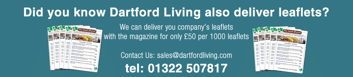 Dartford Living deliver leaflets