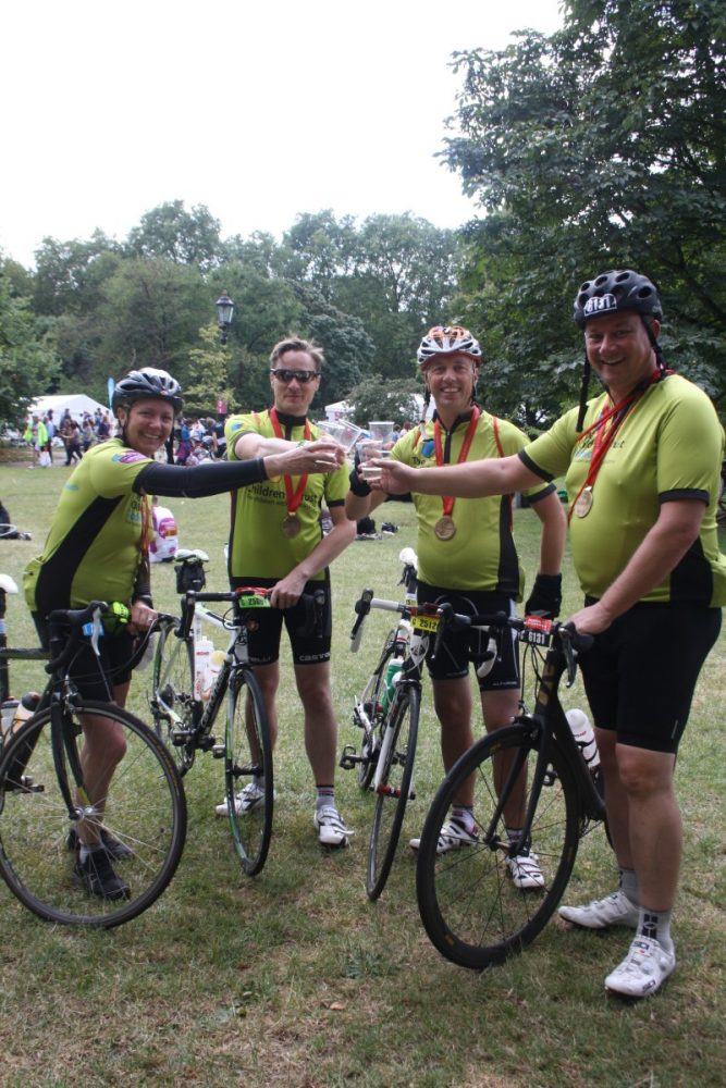London to Canterbury Cycle Challenge - Children's Trust