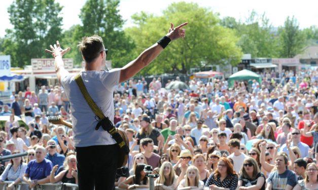 Sun shines on a classic Dartford Festival