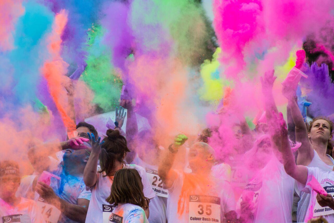 parents consortium colour run 2015 dartford living