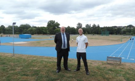 Dartford Harriers on a new track