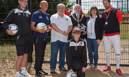 Footgolf Launch is a HUGE Success at Princes Park!