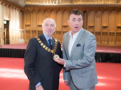 Shane Richie - Orchard Panto launch