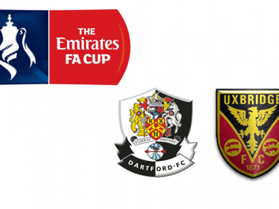 Dartford FC V Uxbridge FA CUP