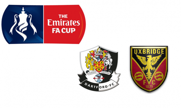 Dartford dumped out of the FA Cup by Uxbridge