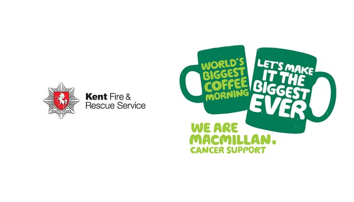 Kent Fire, Macmillan Cancer Coffee Morning