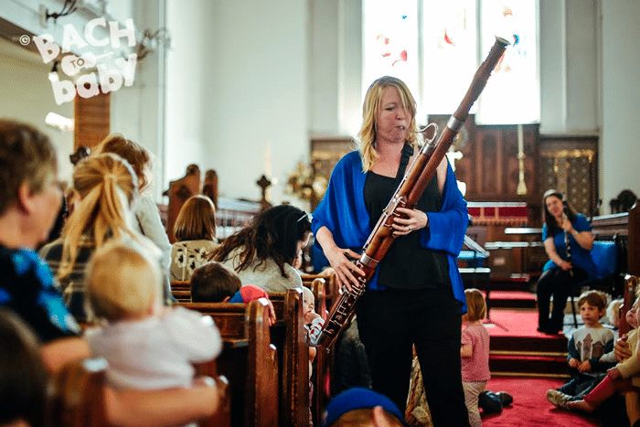Bach to Baby concert series returns to Dartford