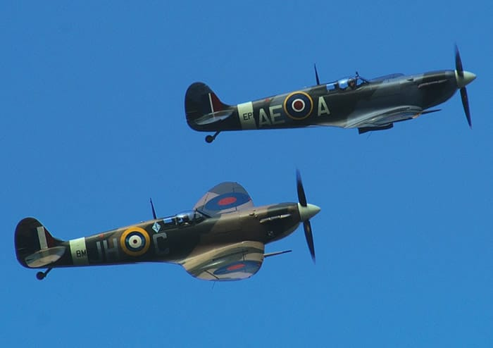 Commemorating battle of Britain Day