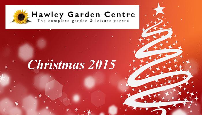 Christmas at Hawley Garden Centre
