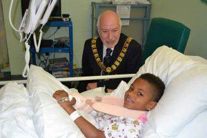 Mayor of Dartford Ian Armitt