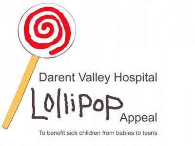 lollipop Appeal Darent Valley Hospital