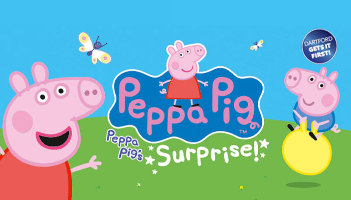 peppa pig orchard theatre