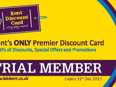 Kent Discount Card