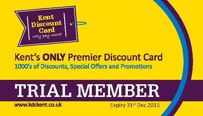 Kent Discount Card