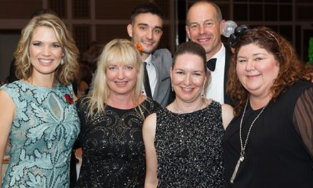Stars turn out for ellenor's Orange Ball which raises £62,000  for families facing terminal illness