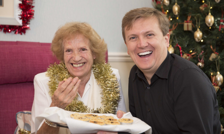 Putting shared food back on the Christmas menu for older people