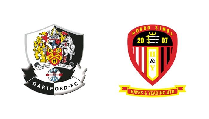 Dartford FC v Hayes and Yeading