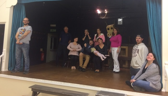 """Local Amateur Dramatic Group Brings the Comedy Play """"The Flint Street Nativity"""" to the Dartford Stage"""