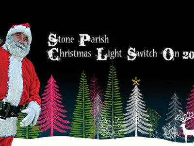 stone parish council Christmas Light switch on