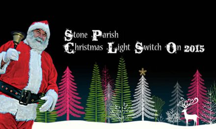 Stone Parish Christmas Light Switch on