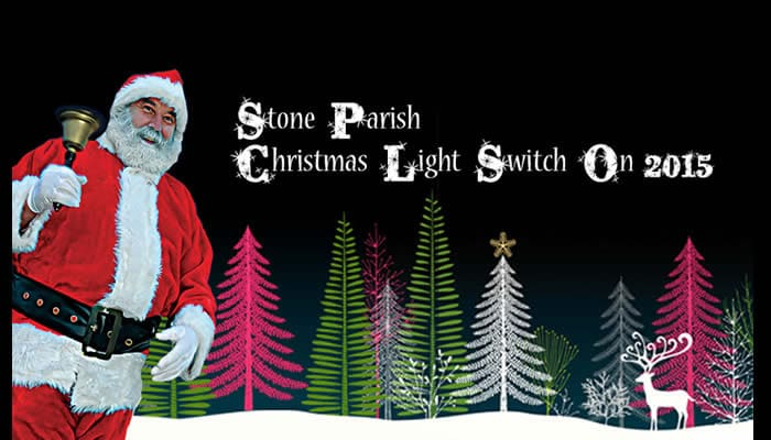 stone parish council Christmas Light switch on