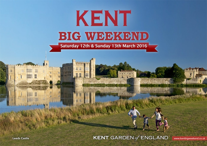 Time is running out to grab free tickets for fantastic days out in the 10th Kent Big Weekend!
