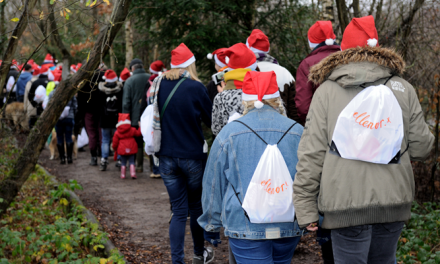 ellenor's Winter Walk brings 330 people together