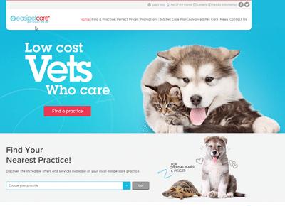 easipetcare website
