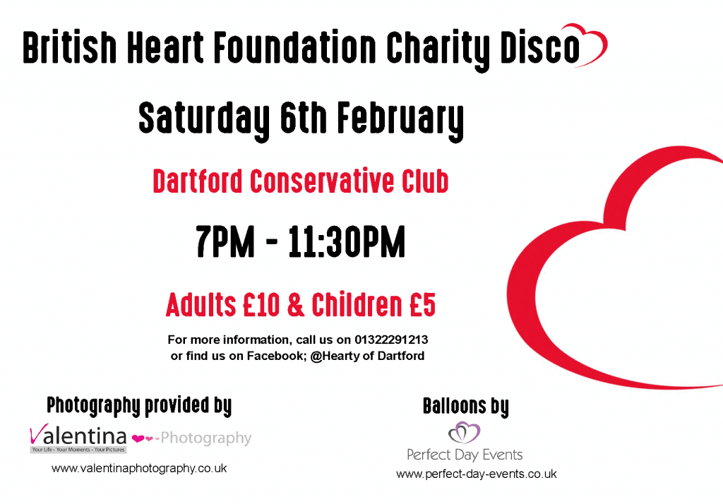 BHF Poster 2016 - DartfordLiving Version