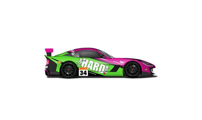 Team Hard - British GT4