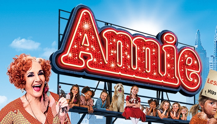 Review of Annie the Musical at the Orchard Theatre