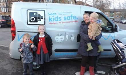 Improving safety on the roads around the Borough's schools
