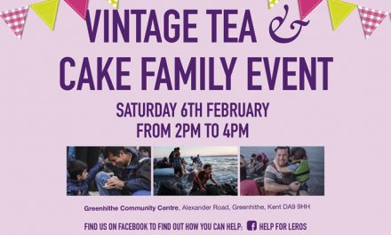 Vintage Tea and Cake Family event in Greenhithe in aid of Help for Leros