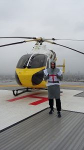 Local Resident Dave Cooke will be taking part in the Virgin London Marathon for the Air Ambulance