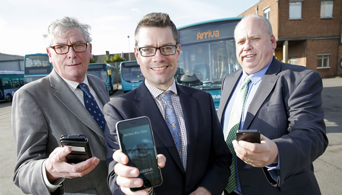 Passengers get connected with free wifi