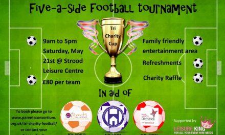 Tri charity football