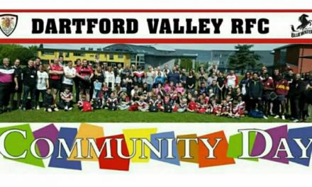 Dartford Valley RFC Community Day 10th April 10am-2pm
