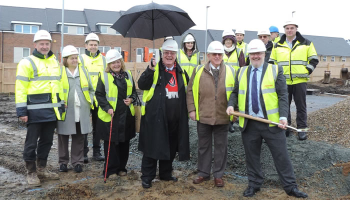 Work starts at Hill View