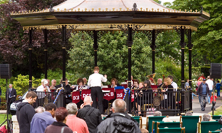 Dartford's summer season of free concerts at the Bandstand in Central Park starts this Sunday, 1st May.
