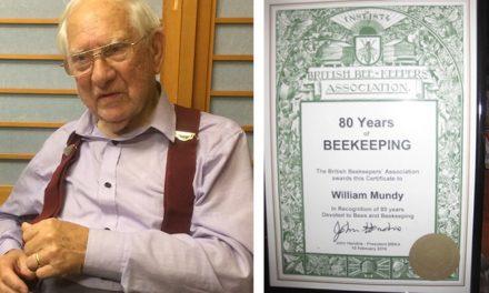 80 YEARS OF BEEKEEPING
