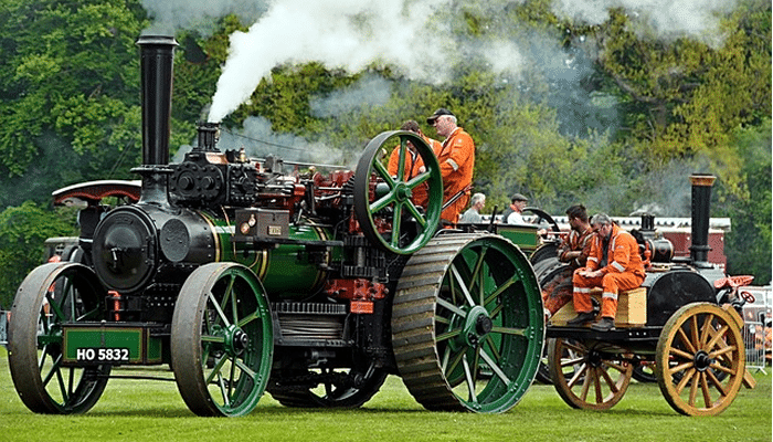 Steam Rally returns to the town