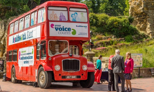 Jump on board the Healthwatch Bus and help improve Kent's  health and social care services