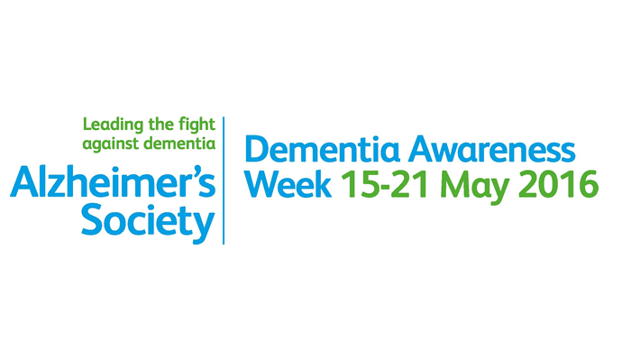 Alzheimer's Society launches Dementia Awareness Week, 15-21 May