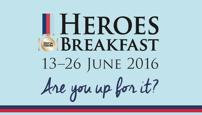 Heroes Breakfast 2016' 13 – 26 June