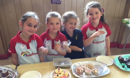 Cake Sale for National Autistic Society