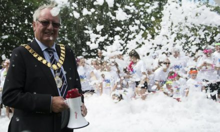 OVER 1,100 PEOPLE HAVE BUBBLY FUN TO RAISE FUNDS FOR DEMELZA