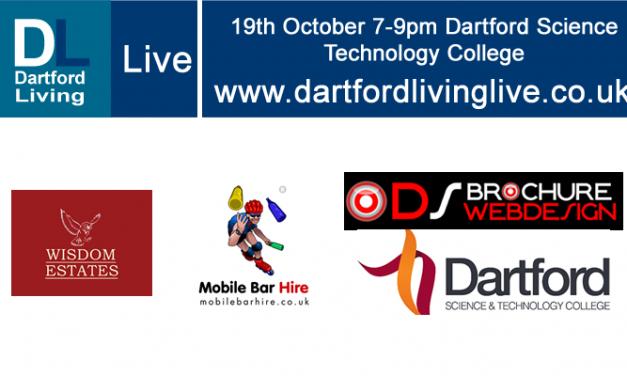 Dartford Living Live 19th October 7-9pm – @ DSTC