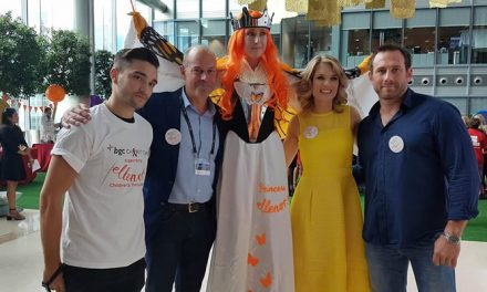ellenor takes part in star-studded charity day in the City