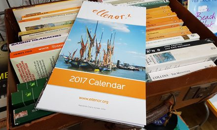 Make a date for the 2017 ellenor calendar